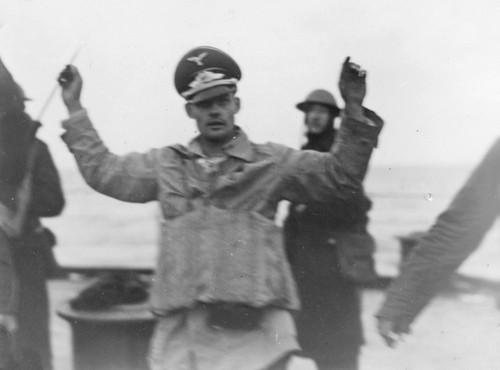 Captured Luftwaffe Pilot