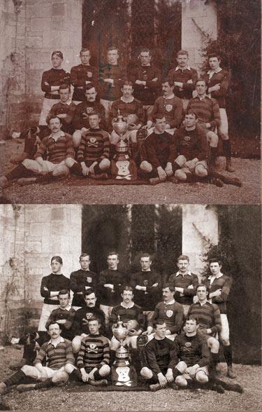 Photo-restoration-Rugby-Team-Photo