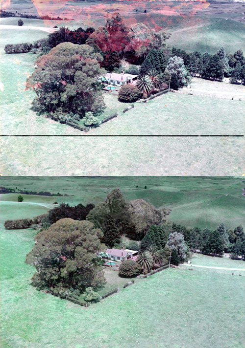 Water-Damaged-Photo-Restoration-Aerial-Photo