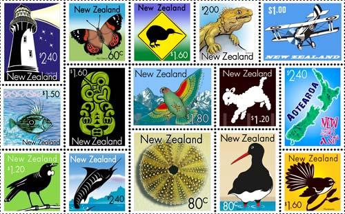 art-print-kiwiana-stamps