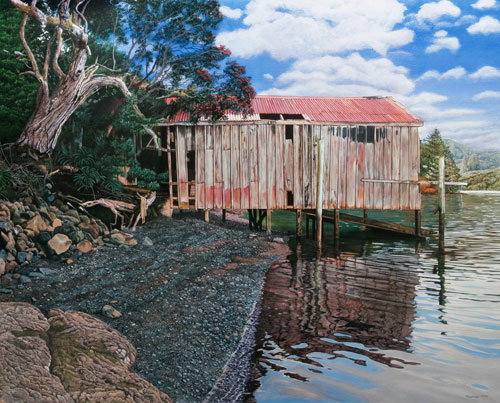 canvas reproduction philip kilmour whangaroa boatshed.jpg